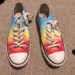 Beautiful Limited Edition Rainbow Chucks